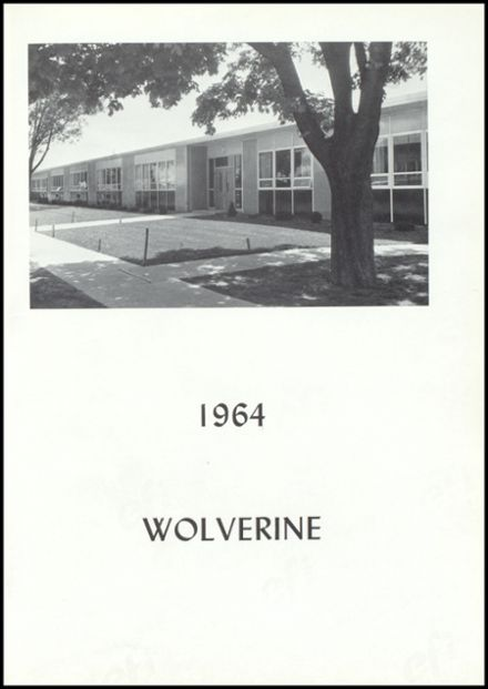 1964 Vestaburg High School Yearbook Page 5