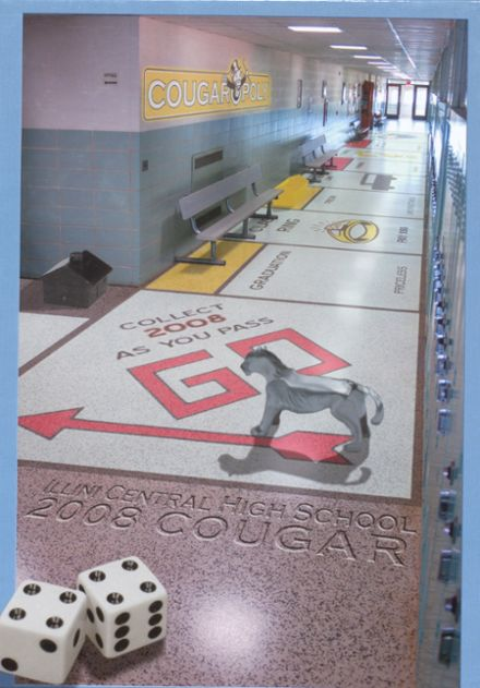 2008 Illini Central High School Yearbook Cover