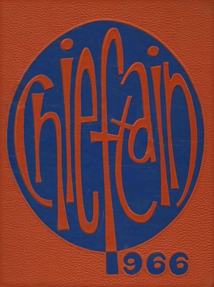 1966 Westwood High School Yearbook Cover