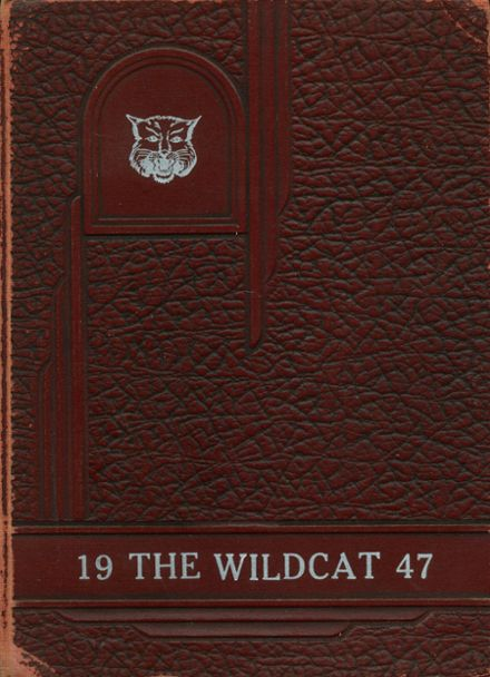 1947 Mt. Enterprise High School Yearbook Cover