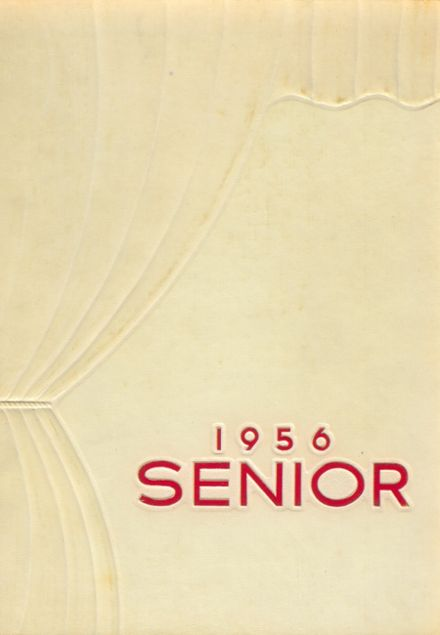 1956 Ottawa Township High School Yearbook Cover