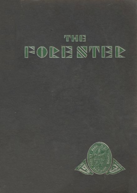 1931 Forest Park High School 406 Yearbook Cover