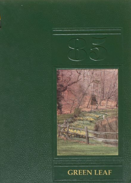 1985 Greenwich Academy Yearbook Cover