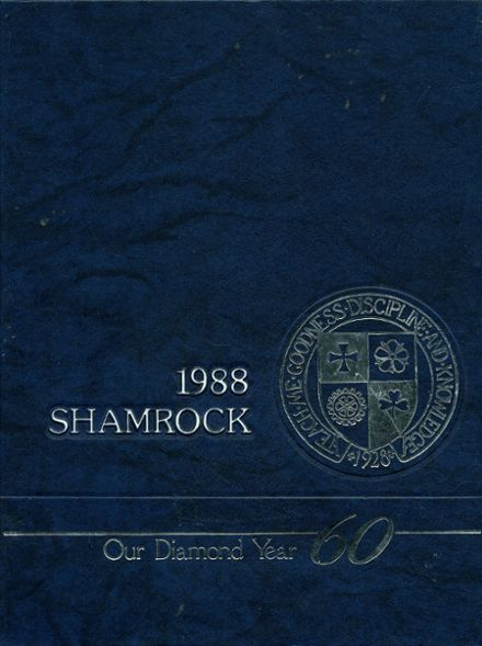 1988 Catholic Central High School Yearbook Cover