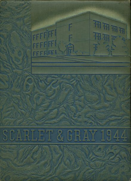 1944 West Lafayette High School Yearbook Cover