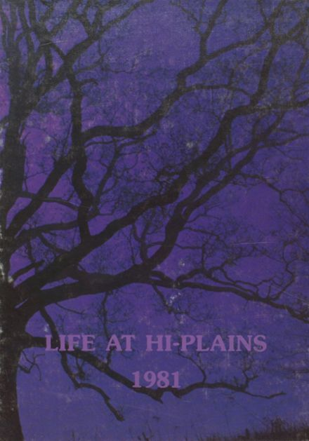 1981 Hi Plains High School Yearbook Cover