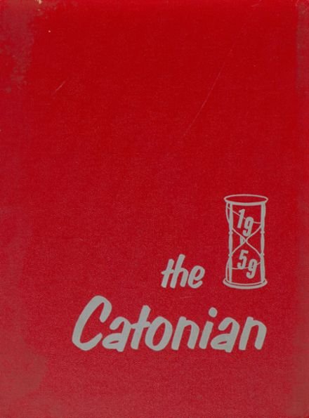 1959 Catonsville High School Yearbook Cover