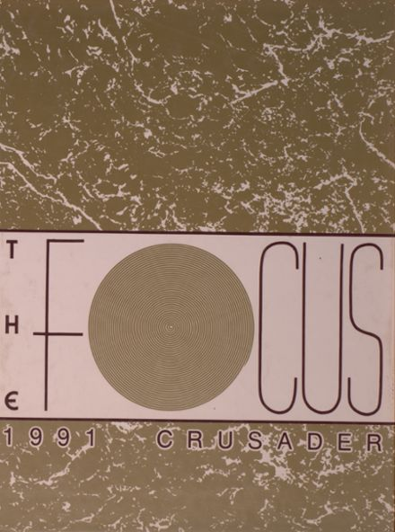 1991 Valley Christian High School Yearbook Cover