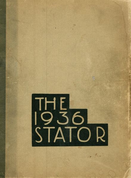 1936 Corning Free Academy Yearbook Cover