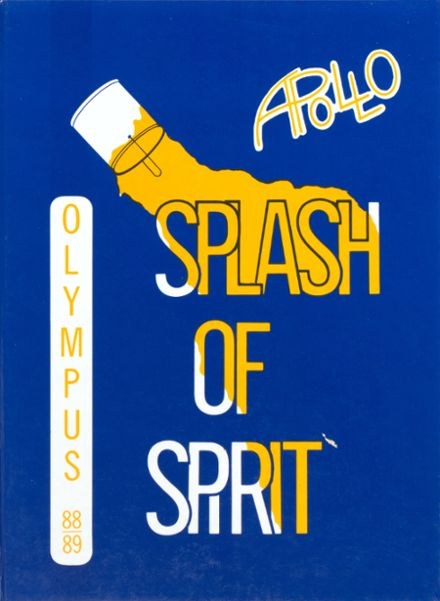 1989 Apollo High School Yearbook Cover