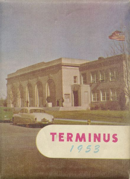 1953 Sparks High School Yearbook Cover