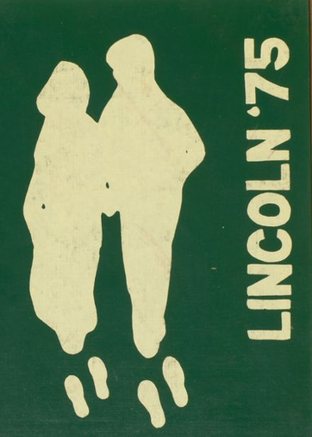 1975 Lincoln Community High School Yearbook Cover