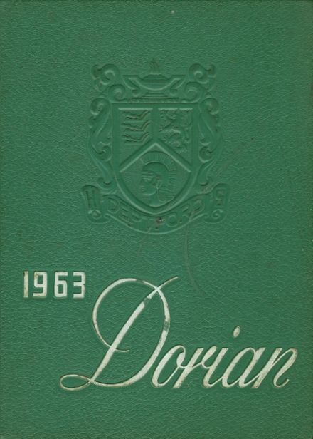 1963 Deptford Township High School Yearbook Cover