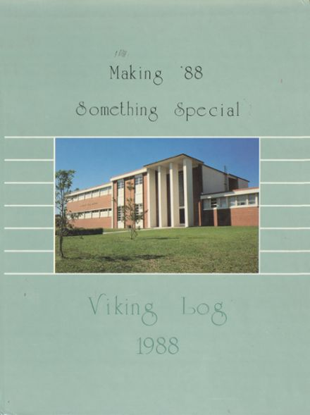 1988 Northeast High School Yearbook Cover