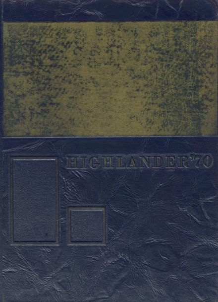 1970 Highland View Academy Yearbook Cover