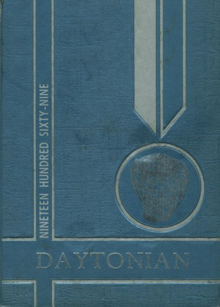 1969 Dayton High School Yearbook Cover