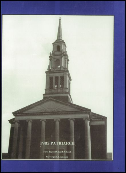 1985 First Baptist Church School Yearbook Page 5