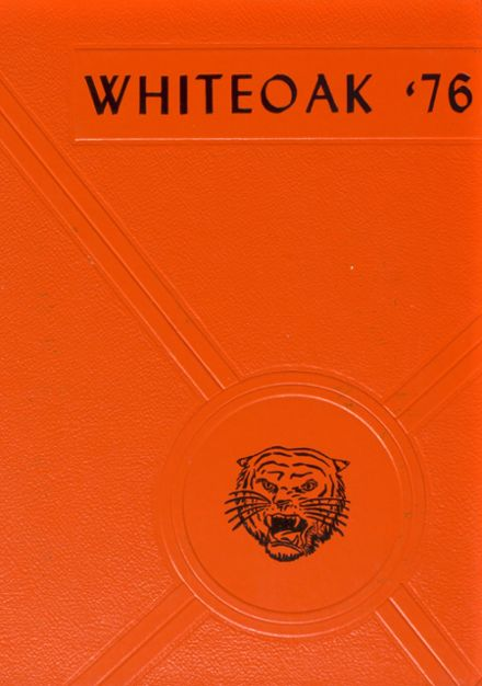 1976 Whiteoak High School Yearbook Cover