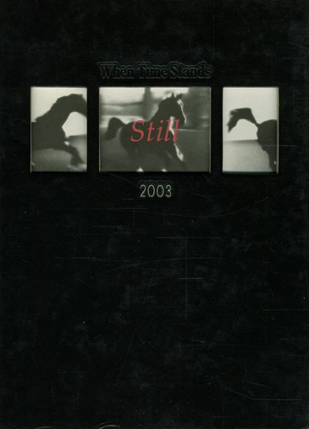 2003 Monte Vista High School Yearbook Cover
