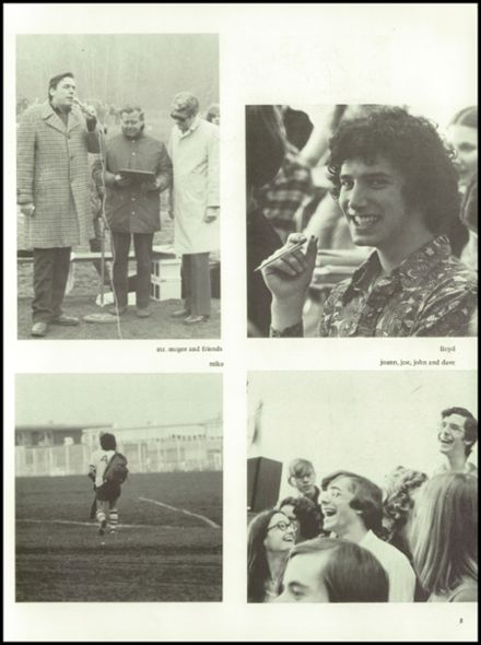 1975 Jamesville-DeWitt High School Yearbook Page 9