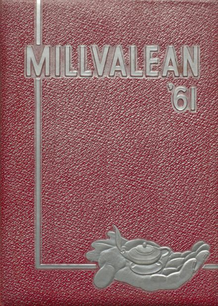 1961 Millvale High School Yearbook Cover