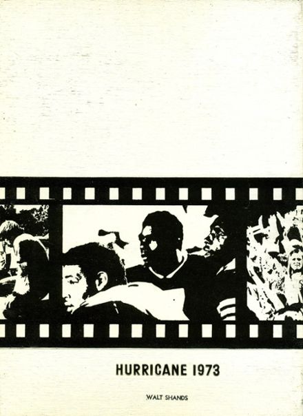1973 Gainesville High School Yearbook Cover