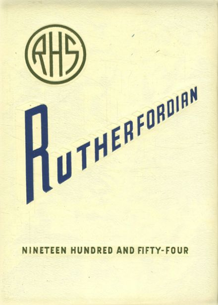 1954 Rutherford High School Yearbook Online Rutherford Nj Classmates