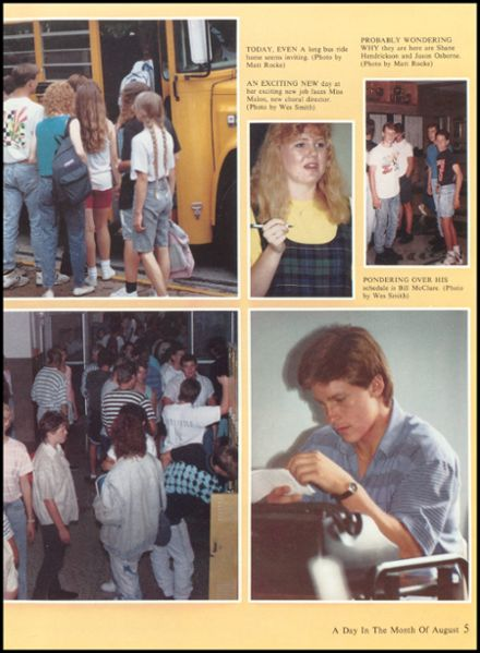 1990 Eureka High School Yearbook Page 9