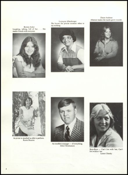 1979 Rib Lake High School Yearbook Page 8