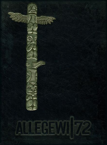 1972 Allegany High School Yearbook Cover