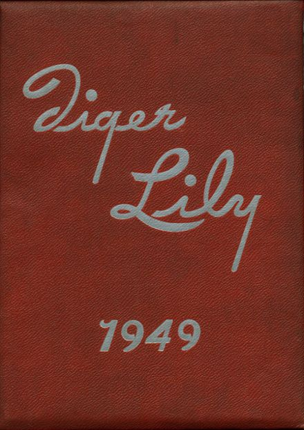 1949 Port Allegany High School Yearbook Cover