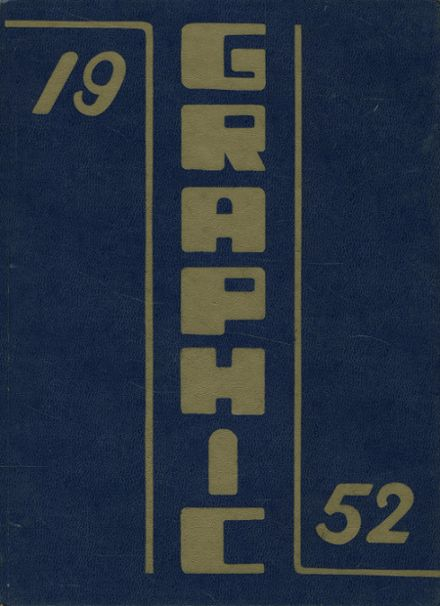 1952 Liverpool High School Yearbook Cover