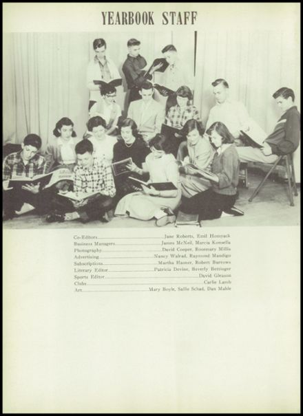 1952 Liverpool High School Yearbook Page 6