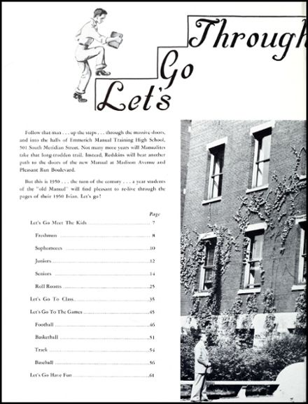 1950 Emmerich Manual High School Yearbook Page 6