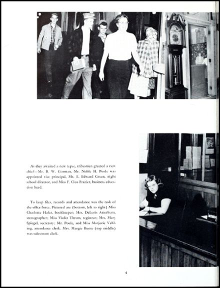 1950 Emmerich Manual High School Yearbook Page 8