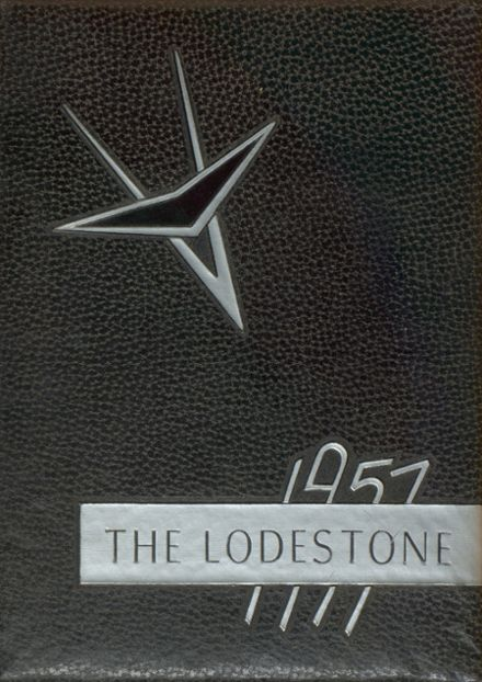 1957 Magnet Cove High School Yearbook Cover