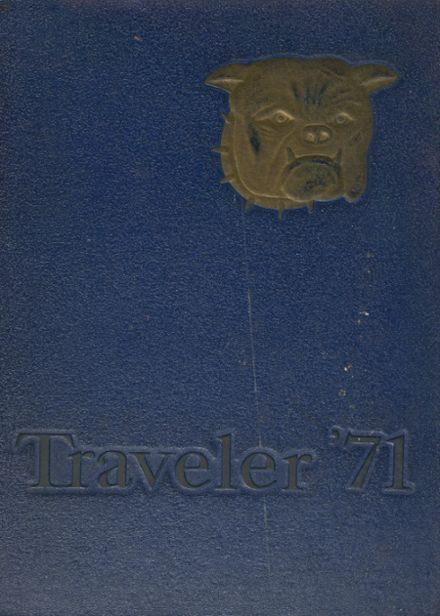 1971 Travelers Rest High School Yearbook Cover