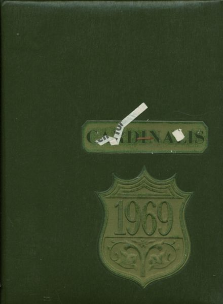 1969 Metamora Township High School Yearbook Cover
