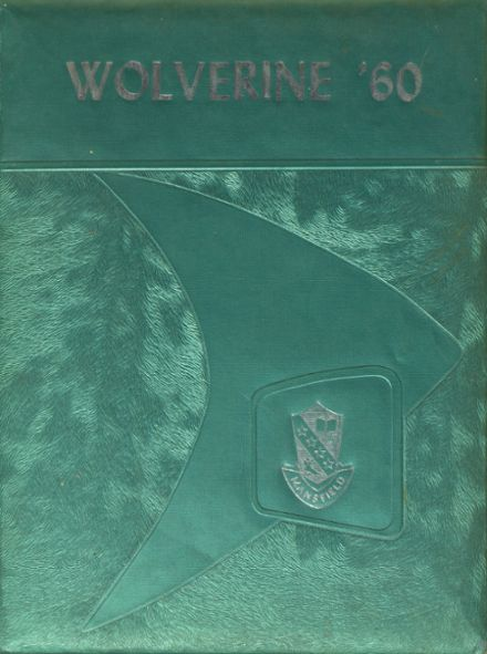 1960 Mansfield High School Yearbook Cover