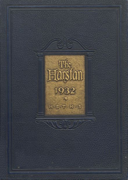 1932 Harter Stanford Township High School Yearbook Cover