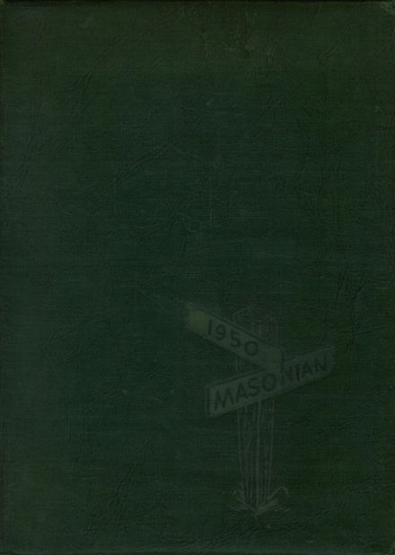 1950 Mason City High School Yearbook Cover