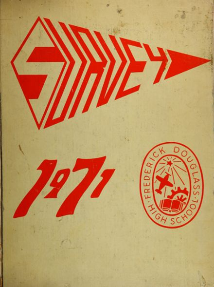 1971 Frederick Douglass High School 450 Yearbook Cover