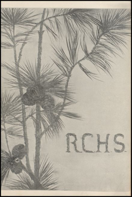 1908 Richland Center High School Yearbook Page 4