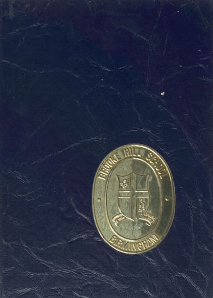 1972 Brooke Hill College Preparatory School for Girls Yearbook Cover