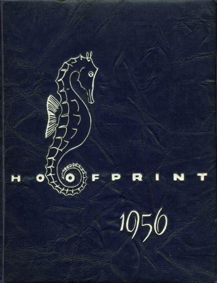 1956 San Dieguito High School Yearbook Cover