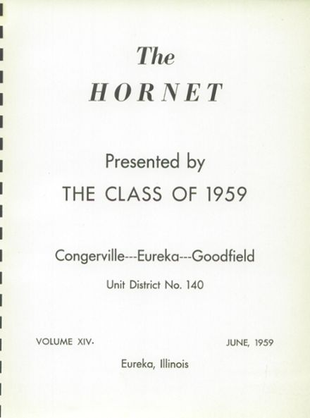1959 Eureka High School Yearbook Page 5