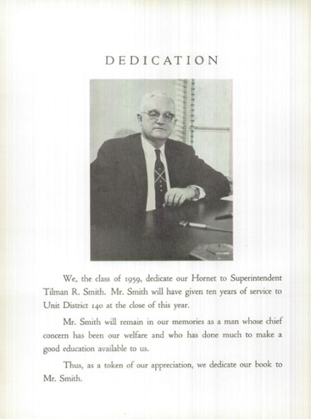 1959 Eureka High School Yearbook Page 8