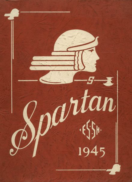 1945 East Sparta High School Yearbook Cover