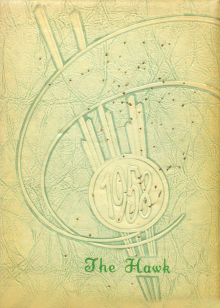 1958 Woodward Community High School Yearbook Cover