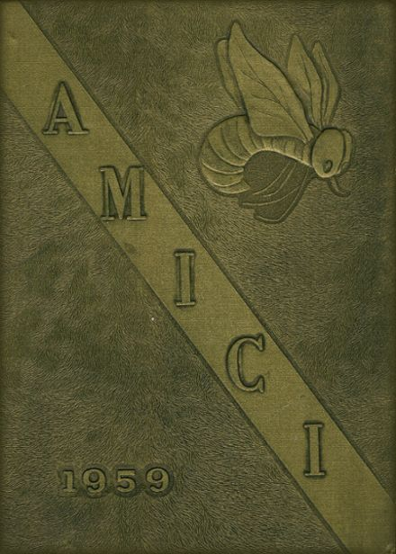 1959 Guilford High School Yearbook Cover